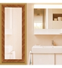 Alpin Bath Mirror in Orange by Amberville