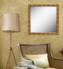 Erykah Decorative Mirror in Gold by Bohemiana