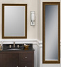 Acklom Bath Mirror in Yellow by Amberville