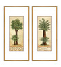 Elegant Arts and Frames Paper & Metal 5 x 1 x 14 Inch Framed Digital Art Print - Set of 2