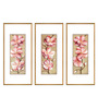 Elegant Arts and Frames Paper & Metal 5 x 1 x 14 Inch Framed Digital Art Print - Set of 3