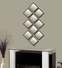Elegant Arts And Frames Antique Gold Synthetic Wood Mirrors Collage - Set of 10