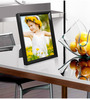 Fausto Photo Frame in Black by CasaCraft
