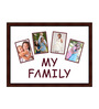 Donato Collage Photo Frame in Brown by CasaCraft