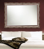 Elegant Arts and Frames Brown Synthetic Decorative Wall Mirror