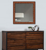 Morpheus Minimalist Mirrors in Brown by CasaCraft