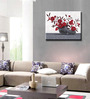 Elegant Arts and Frames Canvas 20 x 16 Inch Floral Framed Wall Art