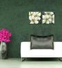 Elegant Arts and Frames Canvas 8 x 8 Inch Floral Framed Wall Art