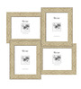 Eliseo Collage Photo Frame in Cream Yellow by CasaCraft