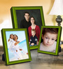 Fonsie Collage Photo Frame in Green by CasaCraft