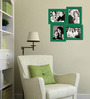 Desiderio Collage Photo Frame in Green by CasaCraft