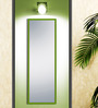 Mariano Minimalist Mirrors in Green by CasaCraft