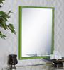 Marisa Minimalist Mirrors in Green by CasaCraft