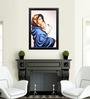 Elegant Arts and Frames Canvas 22.5 x 30.5 Inch Madonna Framed Digital Art Print