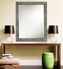 Elegant Arts and Frames Silver Synthetic Decorative Wall Mirror