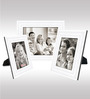 Elicia Collage Photo Frame in White by CasaCraft