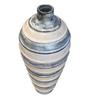 Eleganze Decor Multicolour Ceramic Tender Line Vase