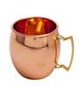 Elite Handicrafts Copper Metal 400 ML Mug (Model: EHD0235)