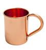 Elite Handicrafts Copper Metal 400 ML Mug (Model: EHD0237)