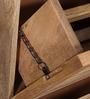 Winlock Shoe Rack in Natural Sheesham Finish by Woodsworth