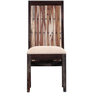 Elliston Dining Chair in Warm Chestnut Finish by Amberville