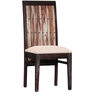 Elliston Four Seater Dining Set in Warm Chestnut Finish by Amberville