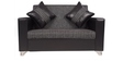 Empire Two Seater Sofa in Black Colour by ARRA