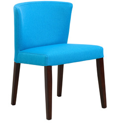 Emilio Dinning Chair In Cerulean Blue By CasaCraft (Set of 2)