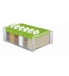 Emsa Green Spice Box Spice Organiser