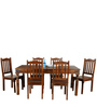 Emerald Six Seater Dining Set in Walnut Finish by Royal Oak