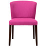 Emilio Dining Chair (Set of 2) in Magneta Pink Color by CasaCraft