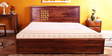 Glendale King Bed in Provincial Teak Finish by Woodsworth
