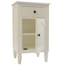 End Cabinet in White Colour by The Yellow Door