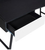 Enichi Study Table in Black Finish by Mintwud