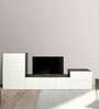Entertainment Unit in Versailles & White Finish by Arancia Mobel