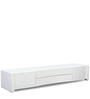Entertainment Unit in White Colour by Lakkarhara