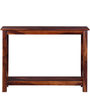 Enumclaw Console Table in Honey Oak Finish by Woodsworth