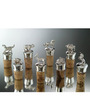 Episode Silver Bear Design 92.5 Silver Plated Wine Stopper