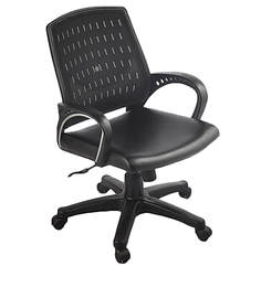 Ergonomic Chair in Black Colour by Aaron Systems