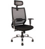 Executive Aspire High Back Chair in Black Colour by FabChair