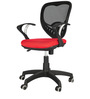 Ergonomic Chair in Black & Red Colour by Karigar