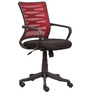 Ergonomic Chair in Red Back Colour by Parin