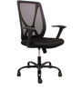 Ergonomic Xceed Chair in Black Colour by FabChair