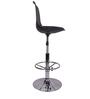 Ergonomico Black Color Bar Chair by VJ Interior