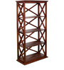 Fife Ivy Display Unit in Provincial Teak Finish by Woodsworth
