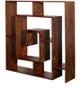 Minerva Book Shelf in Provincial Teak Finish by Woodsworth