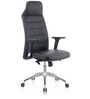 Eros High Back Executive Chair in Black PU by Oblique