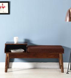 Escobar Bench in Provincial Teak Finish by Woodsworth