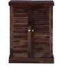 Dakota Bar Cabinet in Provincial Teak Finish by Woodsworth