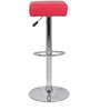 Espana Bar Stool in Pink Color by The Furniture Store